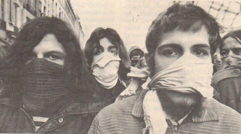 Les lycéens des années 68