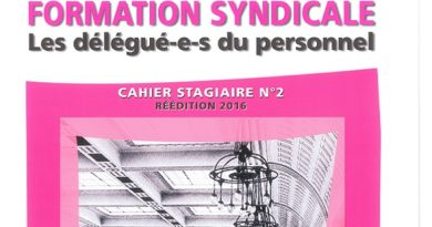 Quelles formations syndicales ?