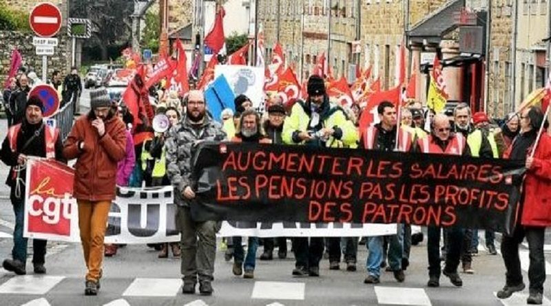 A l'UL CGT Guingamp