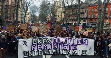 L'Assemblée féministe Toutes en Grève à Toulouse