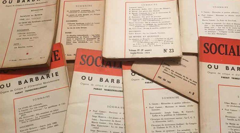 Ecologie et autogestion dans les années 1970 Discours croisés d'André Gorz et de Cornelius Castoriadis